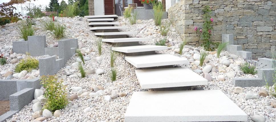 Emejing Escalier Jardin Design Gallery - Design Trends 2017 ...