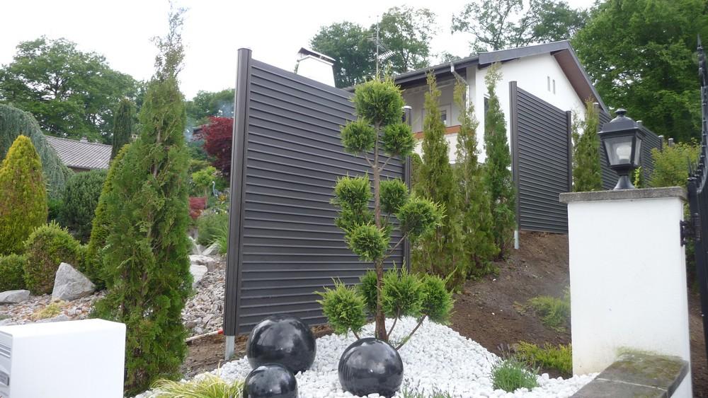 Evasion jardin paysagiste r f rences alsace black bedroom for Brise vue pas cher 1m50