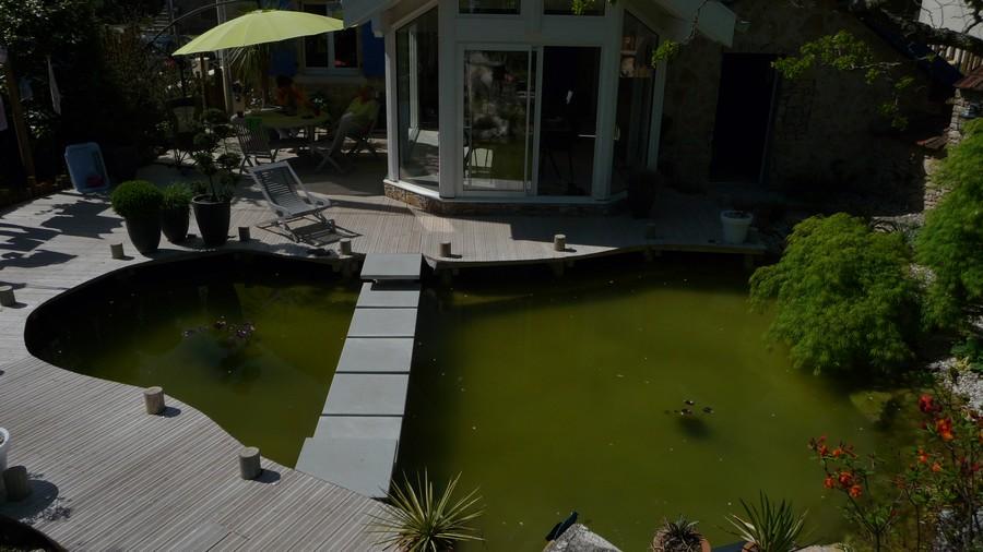 Evasion Jardin Paysagiste références bassin design