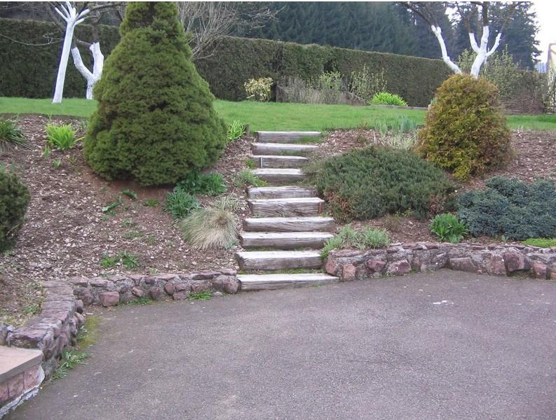 Evasion Jardin Paysagiste références L\'entrée de Monsieur Guy