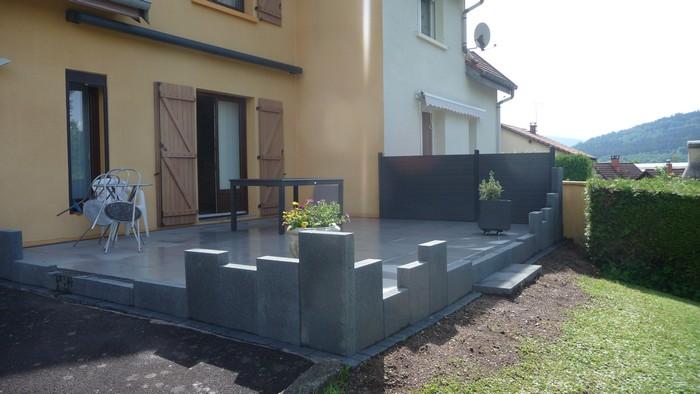 terrasse moderne sans entretien