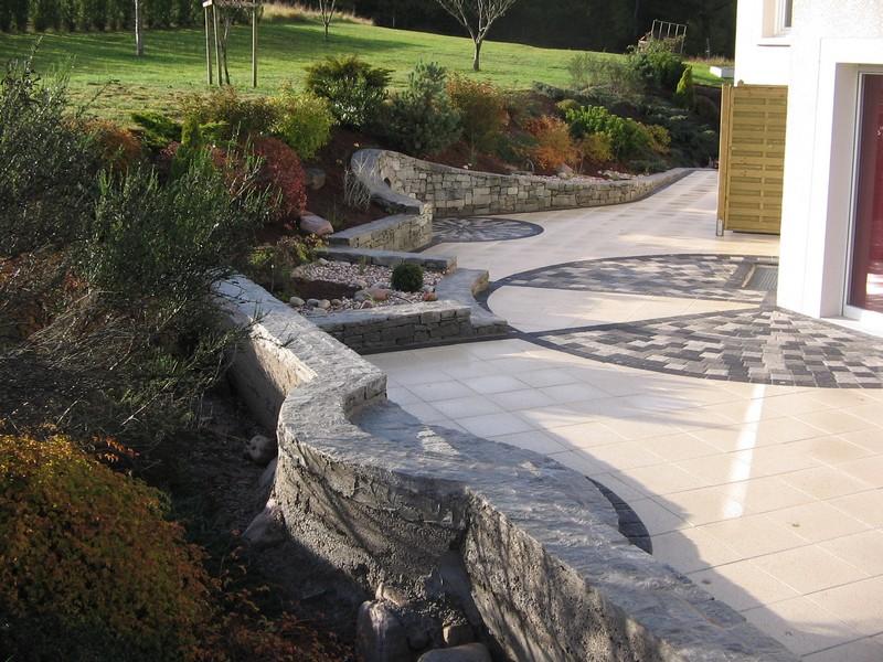 Evasion jardin paysagiste r f rences un jardin design - Jardin de maison design ...